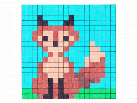 Granny Pixel Haakwerk